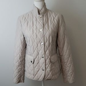 Brooks Brothers : Cool Grey Quilted Jacket